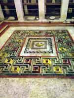 Мозаика со славяно-арийскими символами, Рабат, Морокко