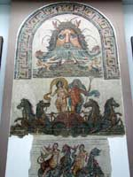 Мозаика со славяно-арийскими символами, Эль-Джем, Тунис