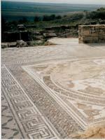 Мозаика со славяно-арийскими символами, Волюбилис, Морокко