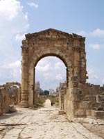 Триумфальная арка, Тир