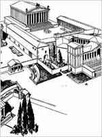 Храмовый комплекс, Баальбек – реконструкция