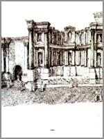 Скифополь, нимфеон и храм Вакха, реконструкция