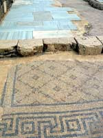 Скифополь. Главная торговая улица. Мозаика со славяно-арийскими символами