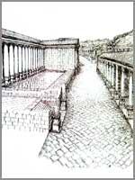 Скифополь. Главная торговая улица. Реконструкция