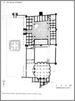 Иерихон. Дворец Хишама. План дворца