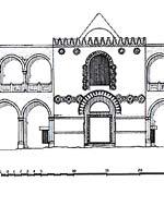 Иерихон. Дворец Хишама. Въезд в дворцовый комплекс. Реконструкция