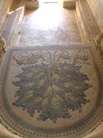 Иерихон. Дворец Хишама. Банный комплекс. Мозаика в комнате отдыха