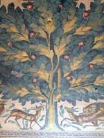 Иерихон. Дворец Хишама. Банный комплекс. Мозаика в комнате отдыха. Фрагмент