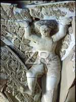Иерихон. Дворец Хишама. Статуи