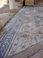 Мозаика на «римской» вилле города Кесарии времён Ирода