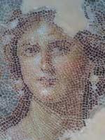 Мозаика на «римской» вилле в Сефорисе