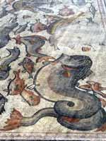 Мозаика на «римской» вилле в Лоде