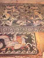 Мозаика со славяно-арийскими символами на о. Эвбея