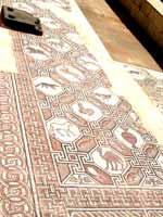 Мозаика со славяно-арийскими символами в Афинах