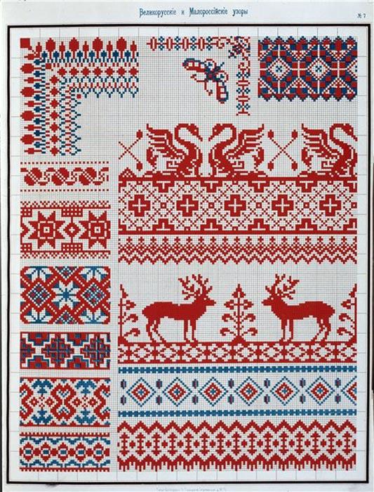 Фенечки с узорами такого рода могут отлично дополнить вашу вышиванку.  Славянские узоры и орнаменты эффектно...