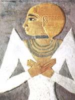 Царица Хетоп-Херес II, дочь Хеопса, 4-я династия (2575-2467 гг. до н.э.), музей Каира