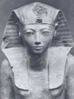 Хатсепсут, из Дейр-эль-Бахари, 18-я Династия, приблизительно 1485 г. до н.э., Столичный Музей Искусства, Нью-Йорк