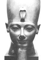 Фараон Тутмосис III приблизительно 1450 г. до н.э.