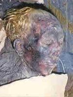 Белокурая жена Туйя Юуйи (Thuya), прабабушка Тутанхамона (Tutankhamen)
