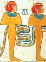 Рыжеволосые богини, из могилы фараона Мернептаа (Merneptah)
