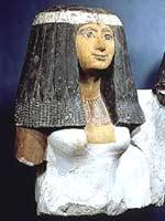 Египетский чиновник с женой, Лувр