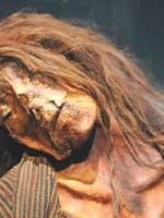 Мумия белого человека, найденная в Перу