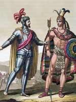 Кортес и Монтесума