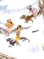 Летающие боги Китая