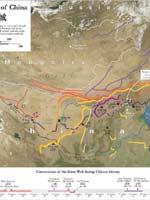 Великая Китайская стена. Карта