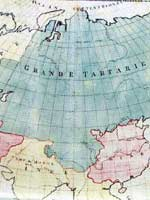 Великая Китайская стена. Карта Азии 1754 года «Le Carte de l'Asie»