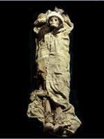 Мумия белого человека в Китае