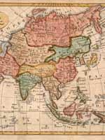 Карта Великой Тартарии 1760 года
