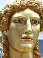 Аполлон Парнопий, предполагаемая копия работы Фидия, прим. 500 г. до н.э.