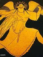 Медуза Горгона. Греческая ваза. 490 г до н.э.