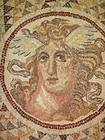 Горгонион. Мозаика. Афинский музей