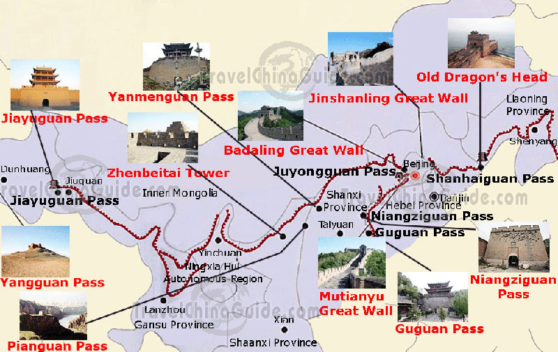 Travel Reviews of the Great Wall in Beijing China.
