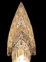 Однорогий кокошник. Коллекция Бруклинского Музея