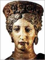 Этрусская богиня Уни