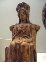 Статуэтка Геры 5 в до н.э.