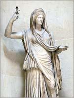 Римская копия греческой статуи Геры 2 в н.э.