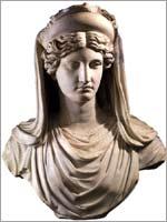 Бюст Деметры. Римская копия. Палаццо Альтемпс, Рим