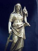 Статуя римской богини Цереры
