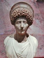 Бюст римлянки 1-2 вв н.э. Эрмитаж