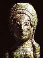 Голова иберийской женщины