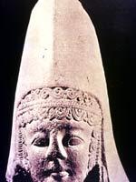 Бронзовая скульптура иберийской женщины