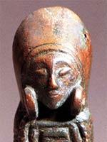 Бронзовая скульптура иберийской женщины, юго-восток Испании