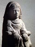 Глиняная фигурка иберийской женщины, северо-восток Испании