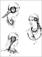 Прибалтийские славянки с наушниками (центральная Литва) 2-6 век