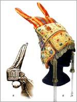 Рогатая кичка – свадебный головной убор казачки-некрасовки, начало 19 в.