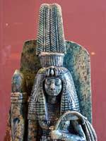 Головной убор шути. Царица Тейе. 14 в. до н.э. Париж, Лувр